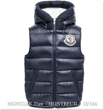 """MONCLER(モンクレール) キッズアウター 秋冬★moncler""""Montreuil""""ダウンベスト/12~14A大人OK【関税込】"""