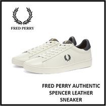 FRED PERRY AUTHENTIC SPENCER LEATHER SNEAKER【25-31cm】