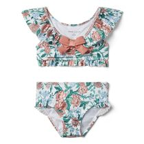 ★JANIE AND JACK★FLORAL BOW 2-PIECE SWIMSUIT 65〜150