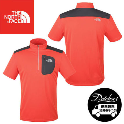 THE NORTH FACE M'S ACTIVE S/S ZIP TEE MU2560