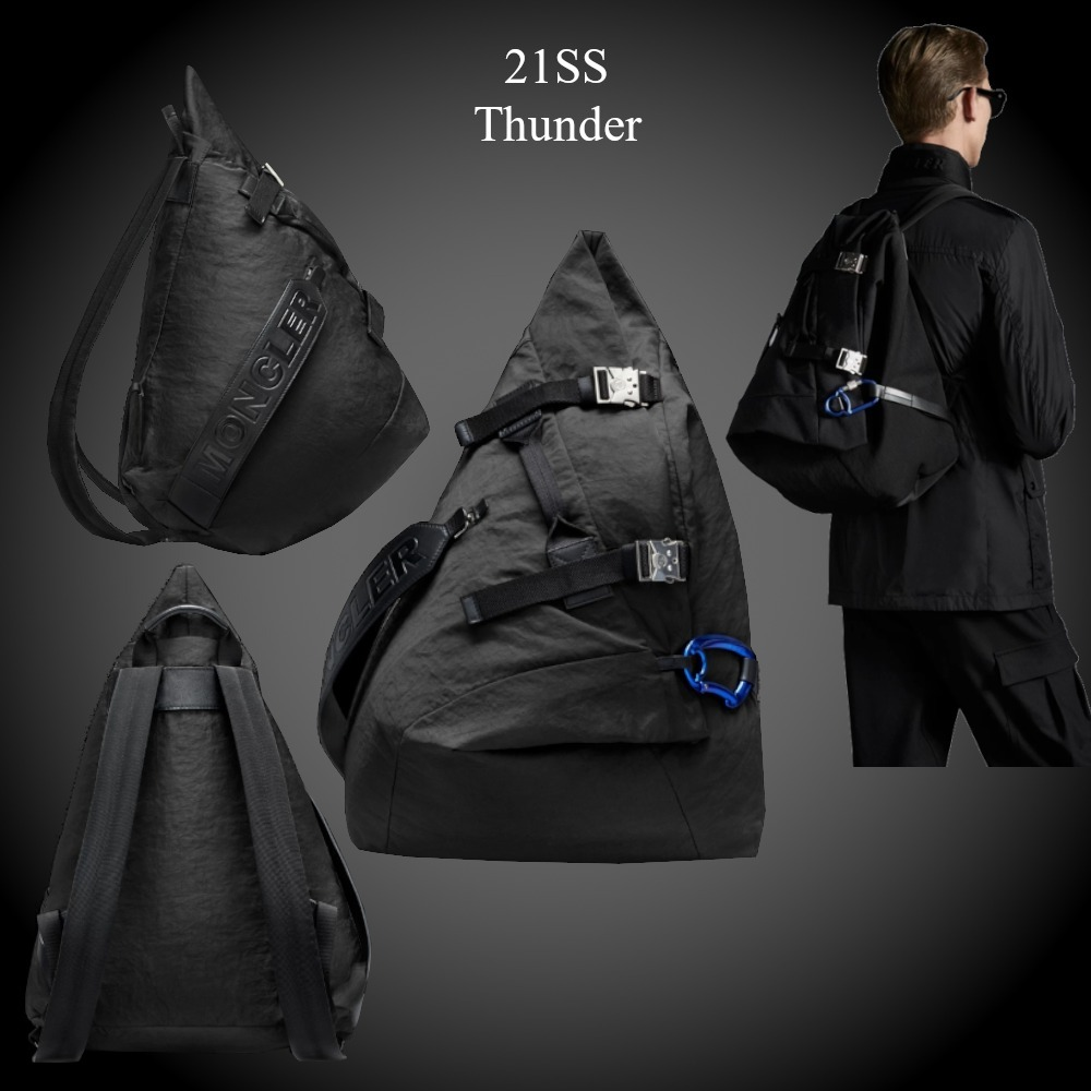 21SS★新作★MONCLER★Thunder バッグパック (MONCLER/バックパック・リュック) G109A5A7070002SSX999