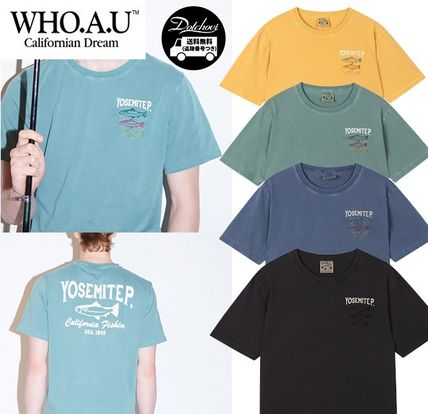 WHO.A.U フィッシュピグメントTシャツ AB631
