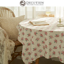 ★DECO VIEW★BOUQUET FLOWER TABLECLOTH テーブルクロス