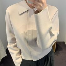 """""""COS"""" CROPPED KNITTED JACKET LightBeige"""