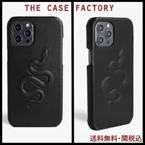 **THE CASE FACTORY**iPHONE 12PROMAX スネークレザーケース
