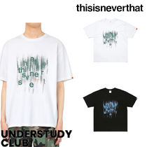 thisisneverthat(ディスイズネバーザット) Tシャツ・カットソー 【thisisneverthat】3-7日お届け/ Brushed Paint Tee