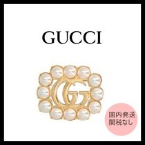GUCCI☆グッチ GG ブローチ☆関税込み