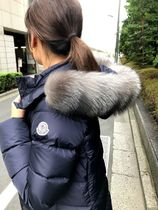 MONCLER(モンクレール) キッズアウター MONCLER21/22 大人もOK12/14A ABELLEダークブルー送料込