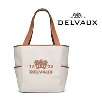 【DELVAUX】Delight Totein Canvas*デルヴォー トートバッグ