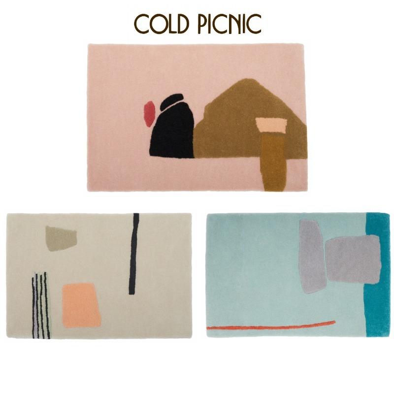 COLD PICNIC A VILLAGE UNDER WATER/GODDESS OF MERCYラグ (COLD PICNIC/ラグ・カーペット) 70855835