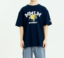 【ISTKUNST】MMLM Mr.Happy ロゴ Tシャツ(2color)[YMME0143]