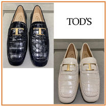 TOD'S(トッズ) ローファー・オックスフォード TOD'S☆TIMELESS LOAFERS☆Tタイムレス ローファー☆送料込