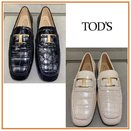 TOD'S☆TIMELESS LOAFERS☆Tタイムレス ローファー☆送料込
