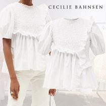 「SALE★21SS」★CECILIE BAHNSEN★カルロッタ ラッフル トップ