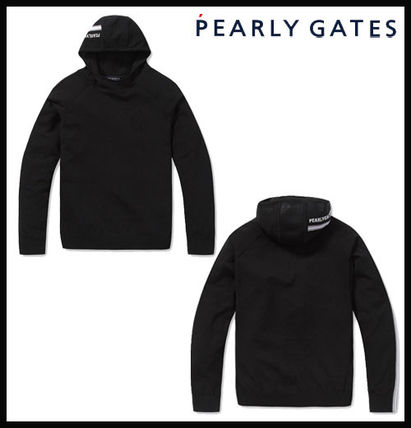 【PEARLY GATES】long sleeve hooded knit