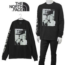 THE NORTH FACE ロンT NF0A55U7 WARPED TYPE GRAPHIC-JK3 BLACK