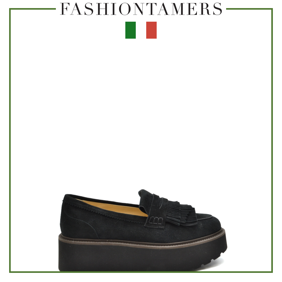 HOGAN 2018-19FW Loafer & Moccasin Shoes (HXW3550AF10CR0B999) by ...