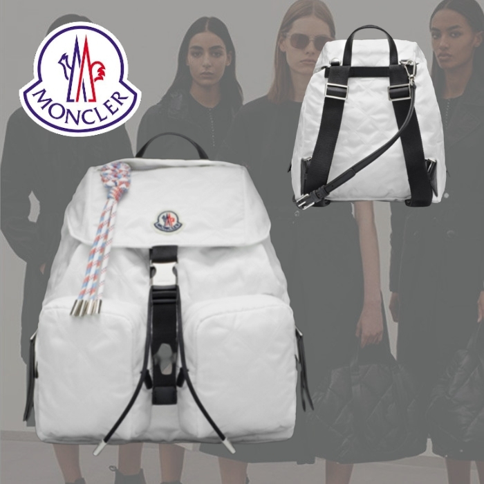 【】MONCLER Dauhphine Large バックパック 優れた (MONCLER/バックパック・リュック) 70909312