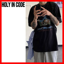 HOLY IN CODE(ホーリーインコード)★ Museum Printing Half T