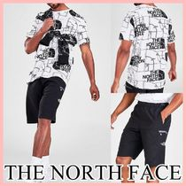 THE NORTH FACE プリントTシャツ&ハーフパンツセット ロゴ 送込