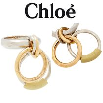 Chloe Reese burnished gold and silver-tone リング
