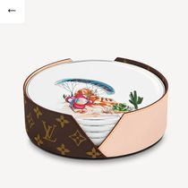 Louis Vuitton(ルイヴィトン) 食器(皿) ルイヴィトン★プレゼントに最適セット4 アシェット★皿4枚★