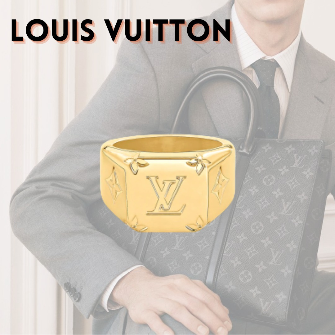 ★LOUIS VUITTON / ルイヴィトン シグネットリング モノグラム (Louis Vuitton/指輪・リング) 70940560