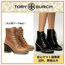 【Tory Burch】MILLER LEATHER LUG SOLE BOOTIE 送料・関税込み