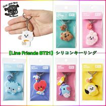 【Line Friends BT21】シリコンキーリング silicone key ring