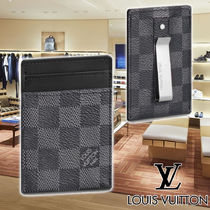 LV 21SS PINCE CARD HOLDER WITH BILL CLIP N60246 カード入れ