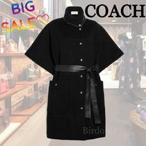 Coach☆セール☆Double Face Belted Cape