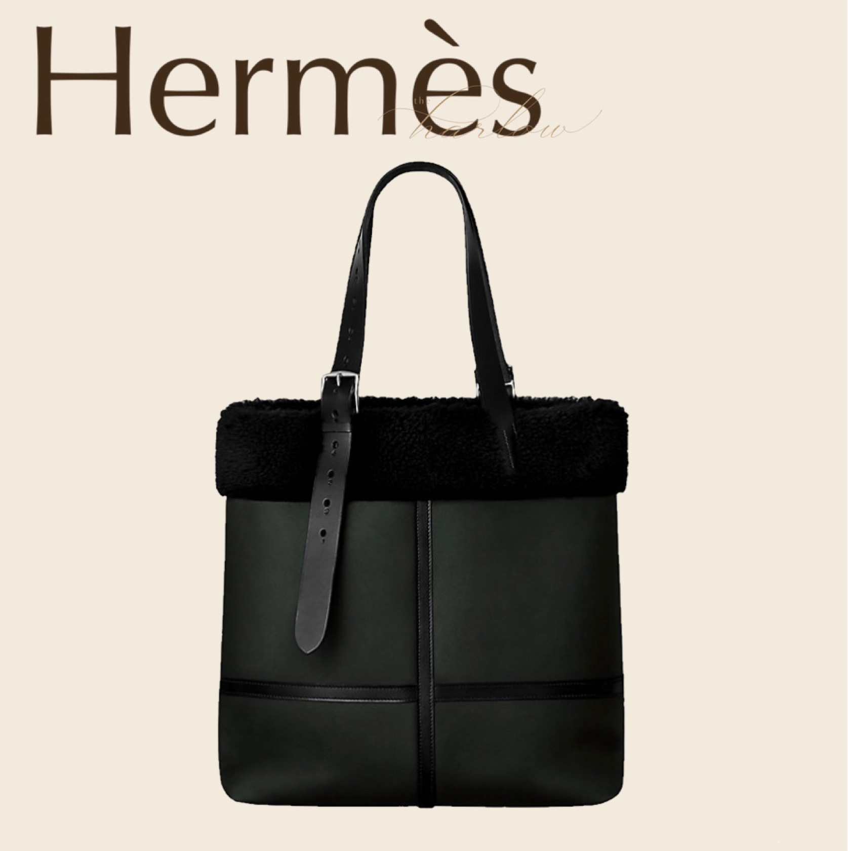 HERMES アビエーター バッグ トート エトリヴィエール H ロゴ 男 (HERMES/トートバッグ) 70973891