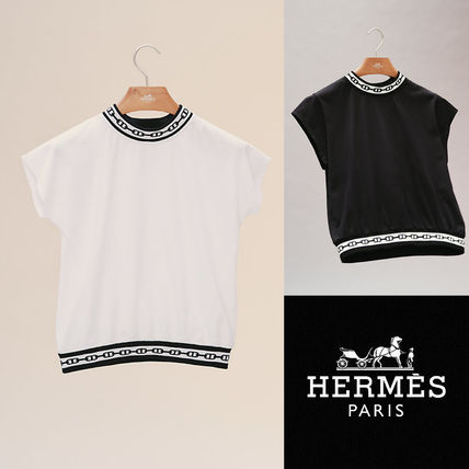 HERMES  Chained'Ancre Tシャツ