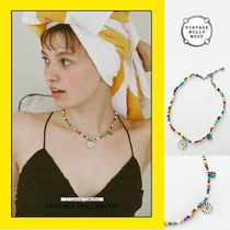 ◆VINTAGE HOLLYWOOD◆ Cool Summer Daisy Charm Necklace 人気