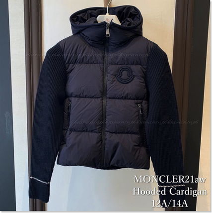 MONCLER(モンクレール) キッズアウター 秋冬☆MONCLER ニットダウンカーデ 12/14A 大人もOK【関税込】