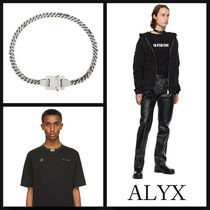 1017 ALYX 9SM Silver Cubix Chain Necklace ネックレス 関送込