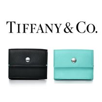 Tiffany & Co.【国内発送・関税込】Compact Leather Wallet