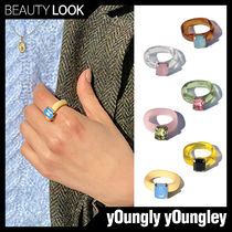 yOungly yOungley(ヨンリヨンリ) 指輪・リング 【yOungly yOungley】BTS ジョングク着用★Foi rings