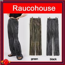 [RAUCOHOUSE] curved pleated bootcut pants/兼用◆追跡付