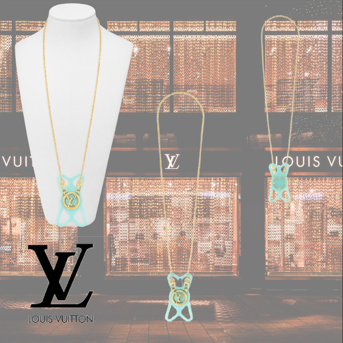 2021AW Louis Vuitton フォンホルダー・ルイーズ ネックレス (Louis Vuitton/ネックレス・ペンダント) M00401