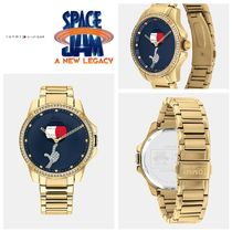 【Tommy】☆コラボ☆SPACE JAM: A NEW LEGACY GOLD WATCH