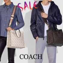 Coach☆ フィールド トート  With Horse and Carriage Print