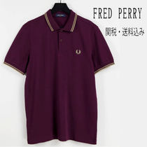 FRED PERRY(フレッドペリー) ポロシャツ 【おすすめアイテム】FRED PERRY Logo Twin Polo Shirt