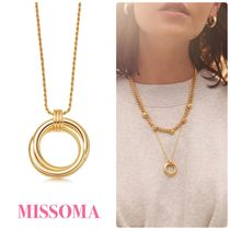MISSOMA★lucy williams gold entwine ネックレス 18K  関送込