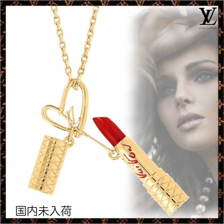 21FW【ルイヴィトン】限定Limited Edition - Fall in Love (Louis Vuitton/ネックレス・ペンダント) M00467
