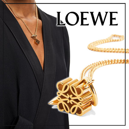 LOEWE ネックレス・ペンダント 【国内発送】Anagram pendant necklace in metal セール