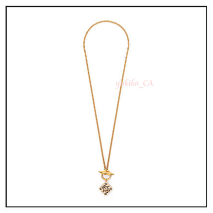 LOEWE ネックレス・ペンダント 【国内発送】Anagram pendant necklace in metal セール(2)
