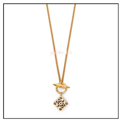 LOEWE ネックレス・ペンダント 【国内発送】Anagram pendant necklace in metal セール(3)