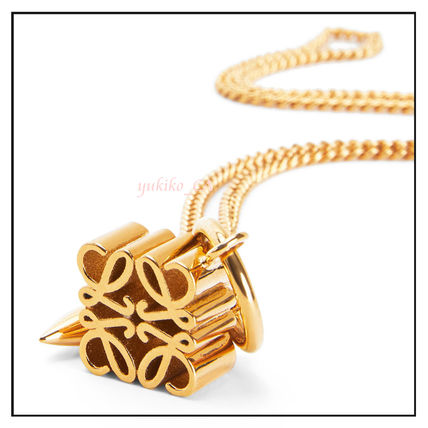 LOEWE ネックレス・ペンダント 【国内発送】Anagram pendant necklace in metal セール(4)