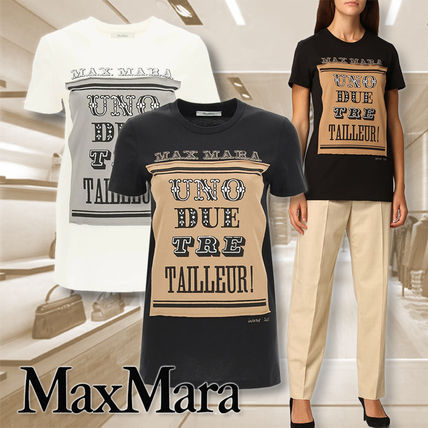 【MAX MARA】7 for 70 POLO プリントアップリケ Tシャツ 関税込